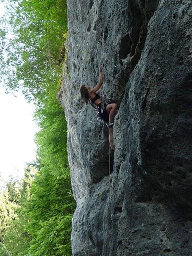Klettern Rosenbach PoltergeistVII+