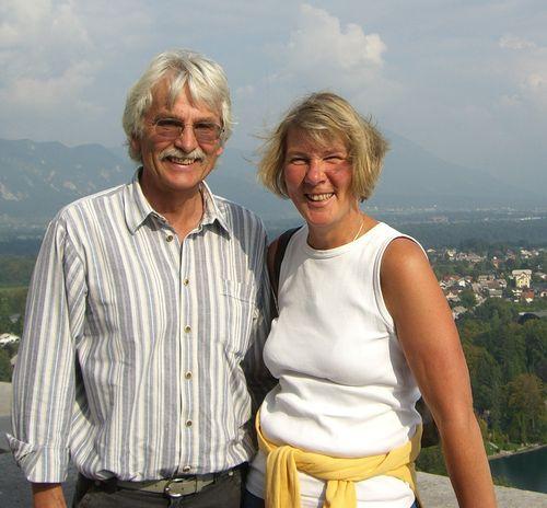das Fotos wurde aufgenommen auf der Burg in Bled in 2009