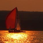 Sonnenuntergang mit Tohuwabohu